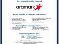 Aramark - Job Openings